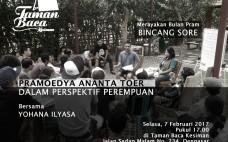 Diskusi Bulan Pram