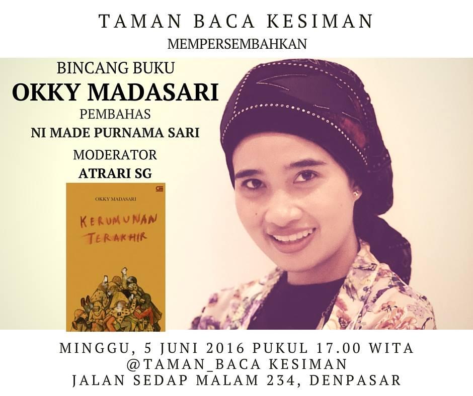 An Evening with Okky Madasari