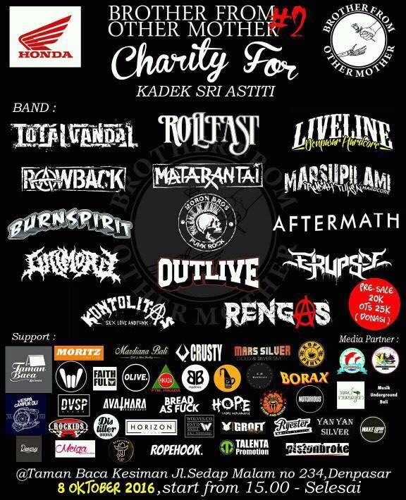 """Charity Concert #2 """"Brother From Other Mother"""""""