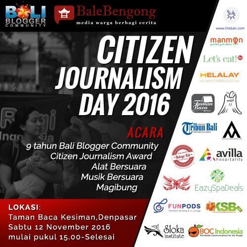Citizen Journalism Day 2016
