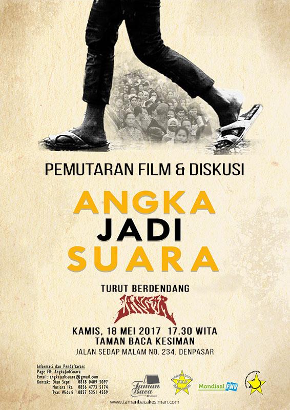 """Pemutaran Film dan Diskusi """"ANGKA JADI SUARA"""""""