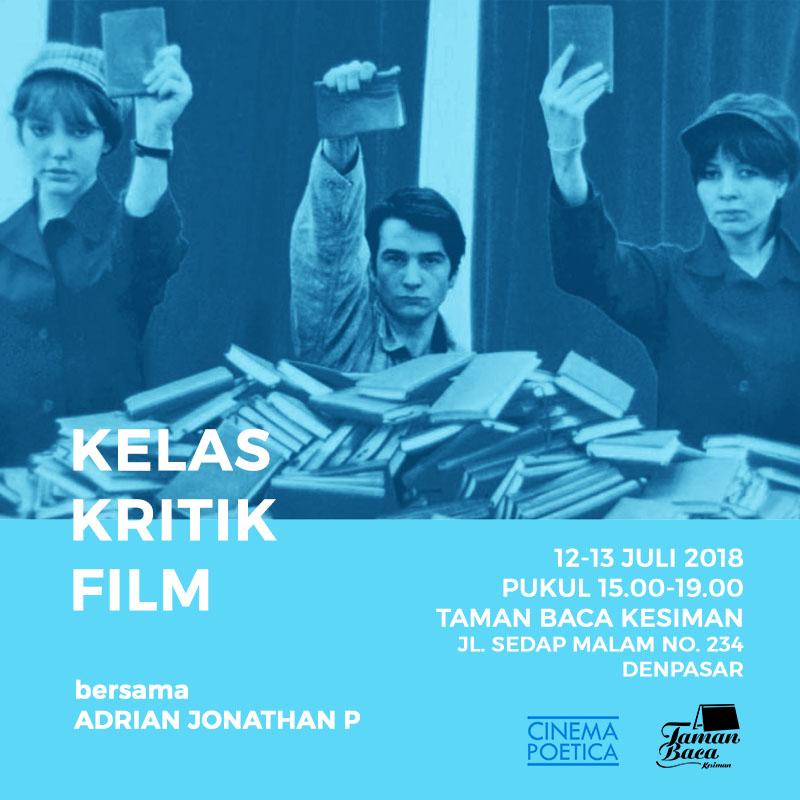 Kelas Kritik Film bersama Cinema Poetica