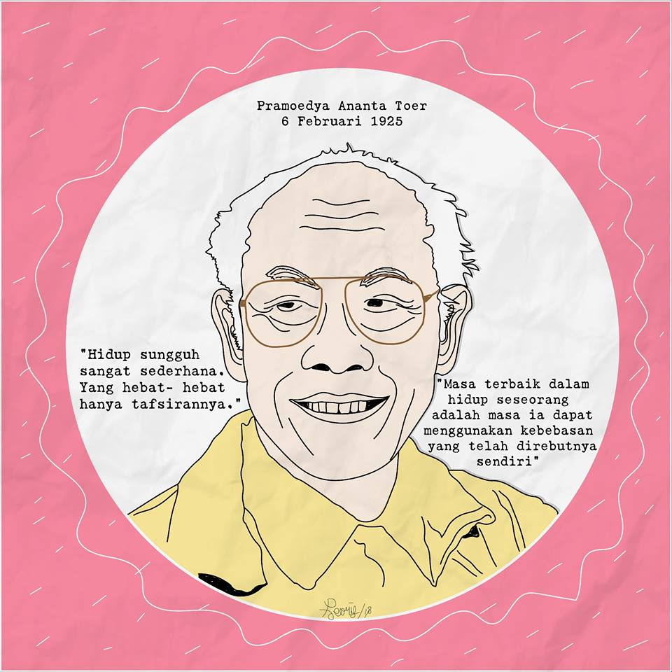 Dirgahayu Pramoedya Ananta Toer
