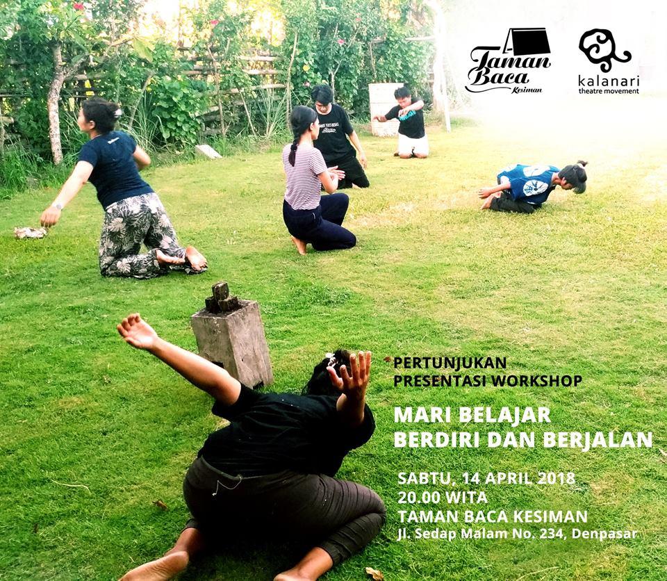 """Presentasi Workshop """"Mari Belajar Berdiri dan Berjalan"""""""