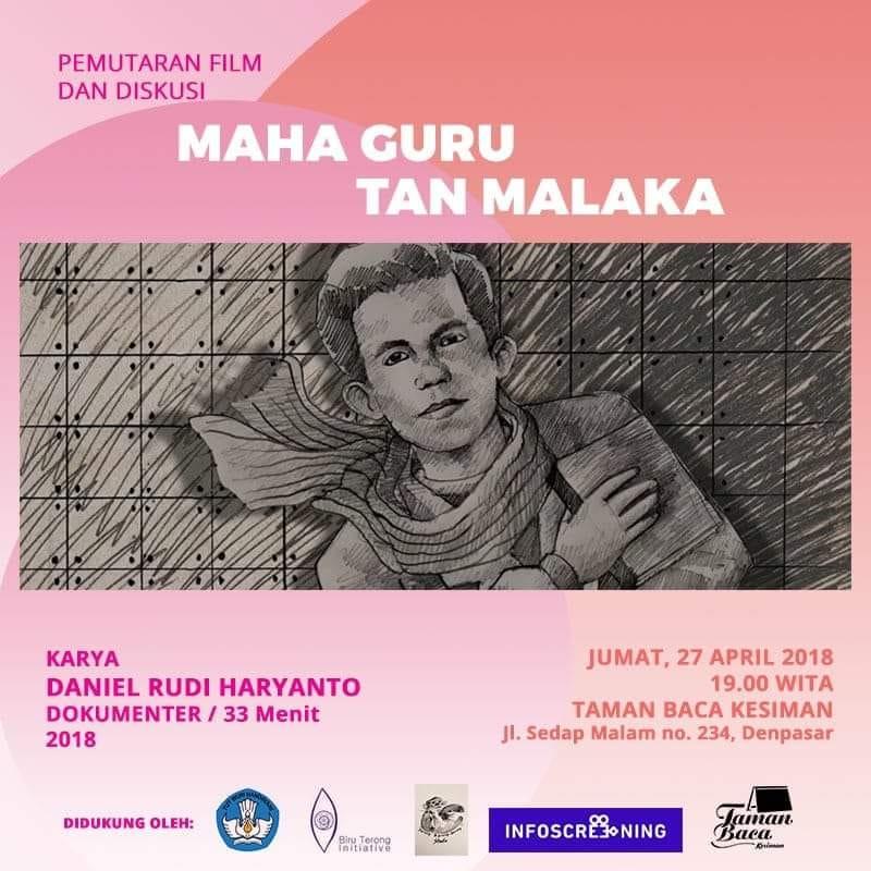 Pemutaran film Maha Guru Tan Malaka