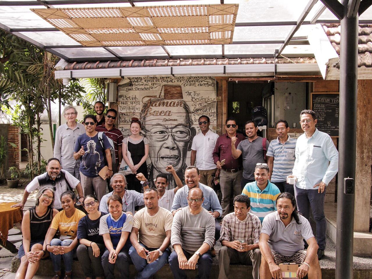 Ulasan: Kunjungan Peserta AJAR dari Timor-Leste di Taman Baca Kesiman